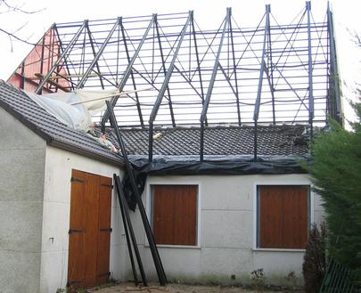 Rehausser maison best principe de dune maison rehausser with rehausser maison perfect free for Cout rehausse toiture