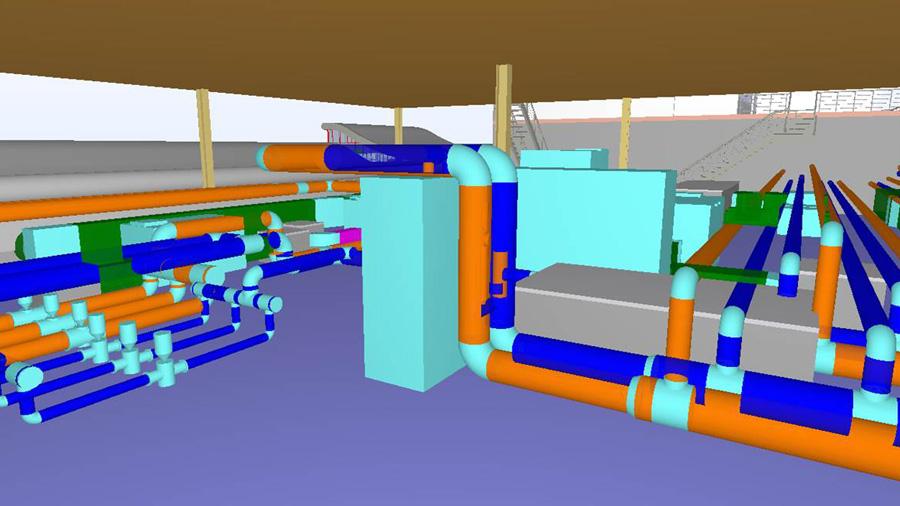 L'aéroport de Faro en maquette numérique BIM
