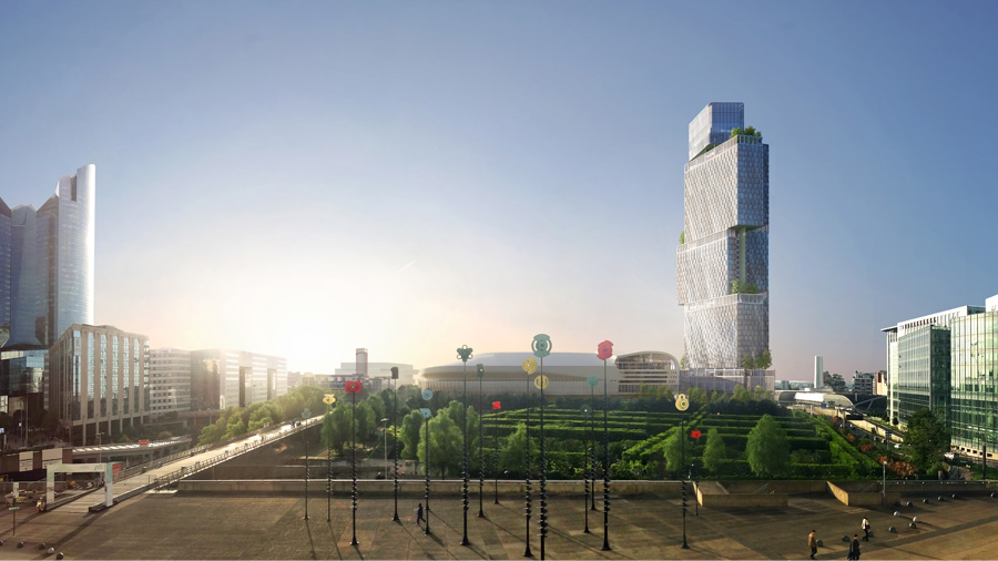 Behind the scenes at the Silver BIM Awards 2018: the Jardins de l'Arche Tower in La Défense with the CSTB