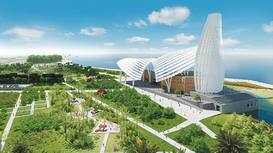 Grand musée de l afrique à alger innovation élégance et