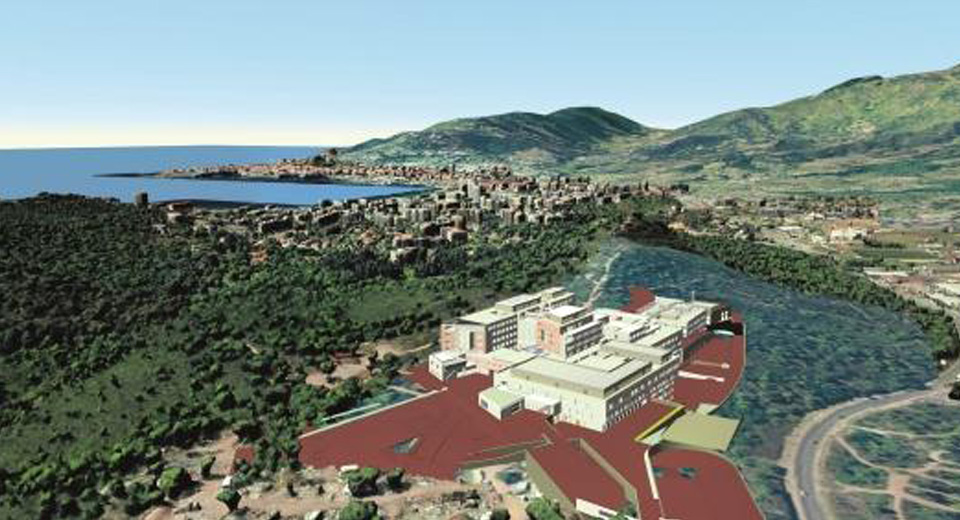 Le nouvel hôpital d'Ajaccio : un projet 100% BIM