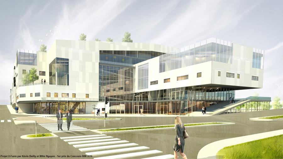 Palmarès Concours BIM 2016 : qualité architecturale et démarche BIM au rendez-vous