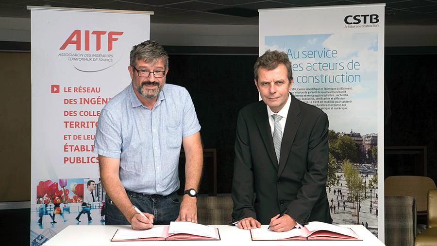 AITF - CSTB : un partenariat au service de la construction, de l'aménagement et du développement des territoires