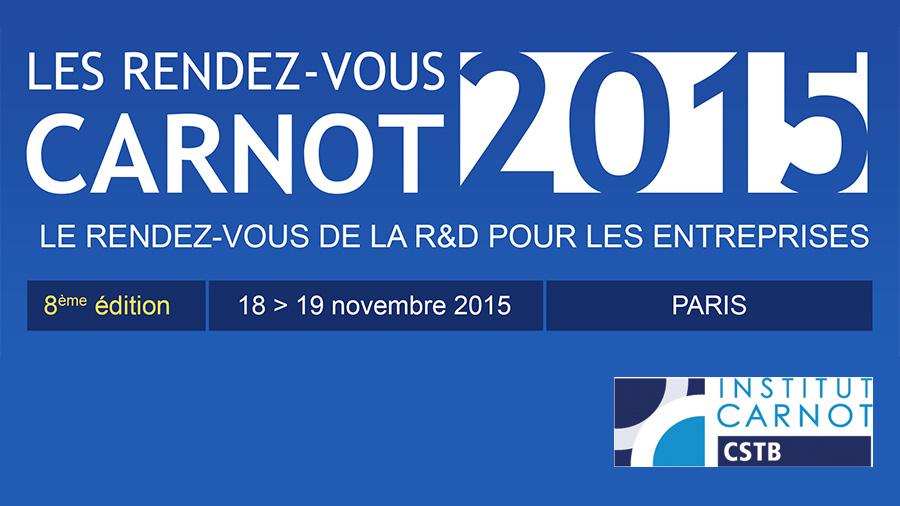 Les Rendez-vous CARNOT 2015 avec le CSTB