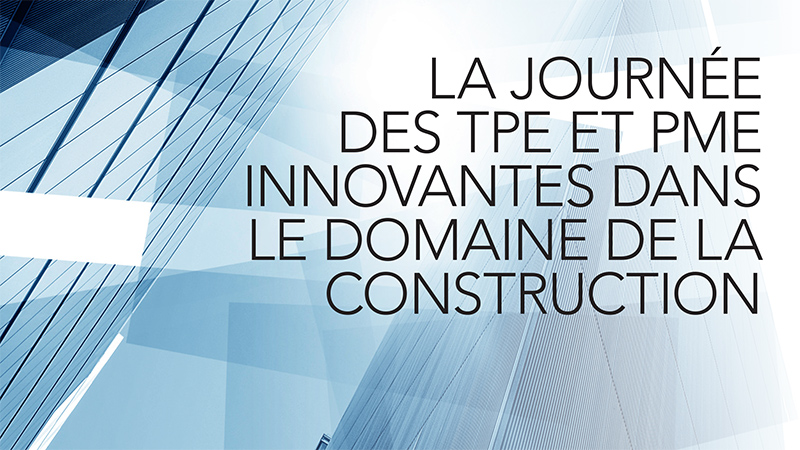 Journée des TPE et PME innovantes dans les territoires