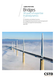Bridges. 30 years of expertise in aerodynamics