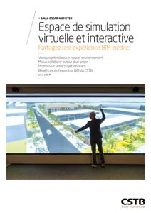 Espace de simulation virtuelle et interactive