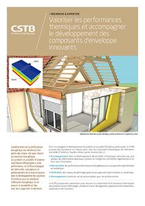 Performances thermiques et développement de composants d'enveloppe innovants