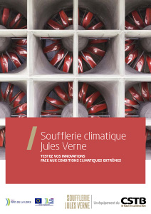 Soufflerie climatique Jules Verne