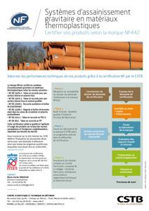 Systèmes d'assainissement gravitaire en matériaux thermoplastiques