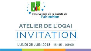Atelier de l'OQAI : Qualité de l'air dans les écoles en France, premiers résultats de la campagne nationale