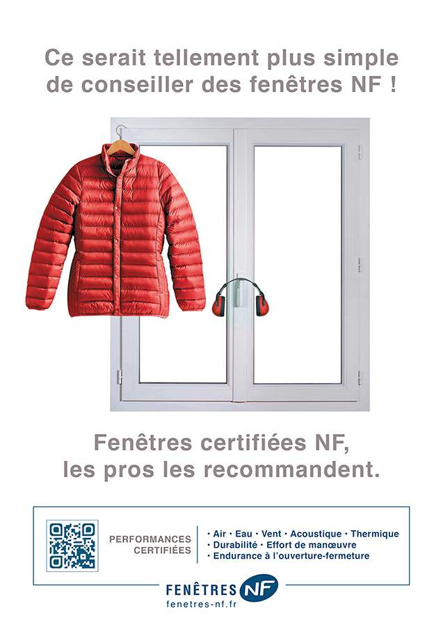fenêtres certifiées NF