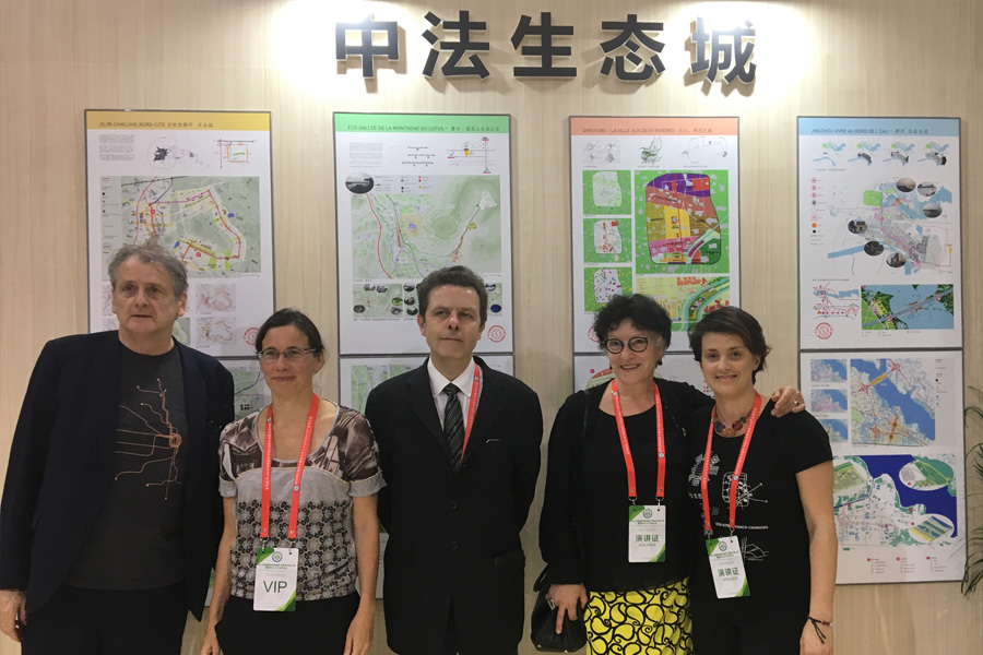 5 villes chinoises primées Eco-cités 07