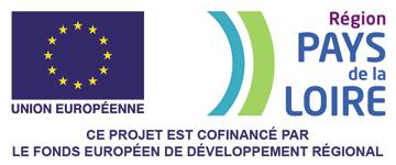 Ce projet est cofinancé par le fonds européen de développement régional