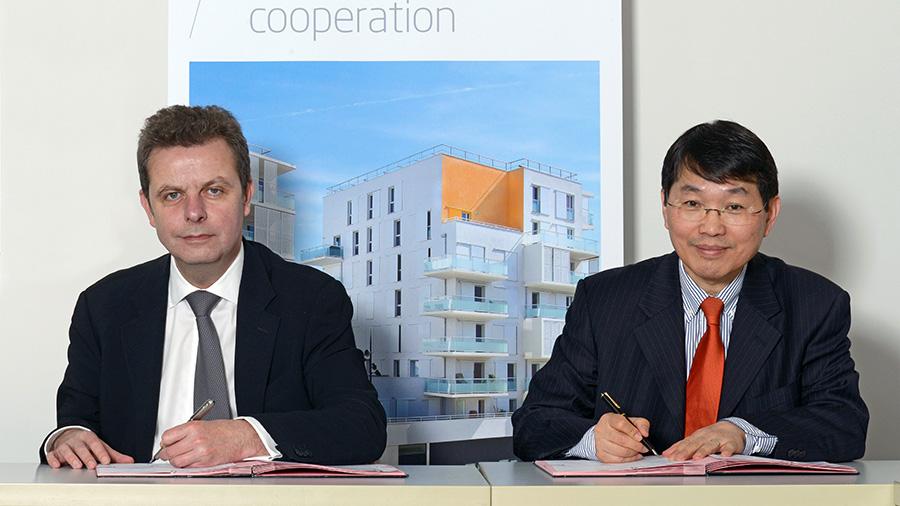 Accord du CSTB avec le centre de recherche coréen dédié au logement (LHI)