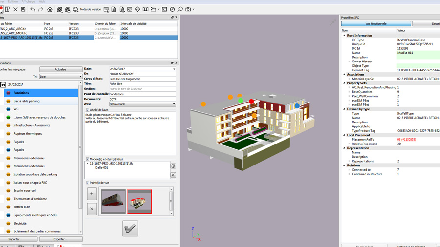 Using BIM in technical inspections