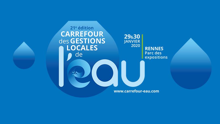 Le CSTB au Carrefour des gestions locales de l'eau les 29 et 30 janvier au parc des expositions de Rennes
