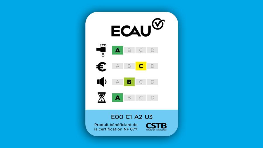 Choisir facilement sa robinetterie adaptée à son usage : Le CSTB présente le classement ECAU au salon Idéobain