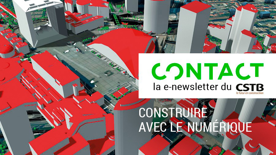 CONTACT n° 2 : Construire avec le numérique