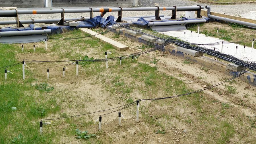 Urban swales to improve stormwater management