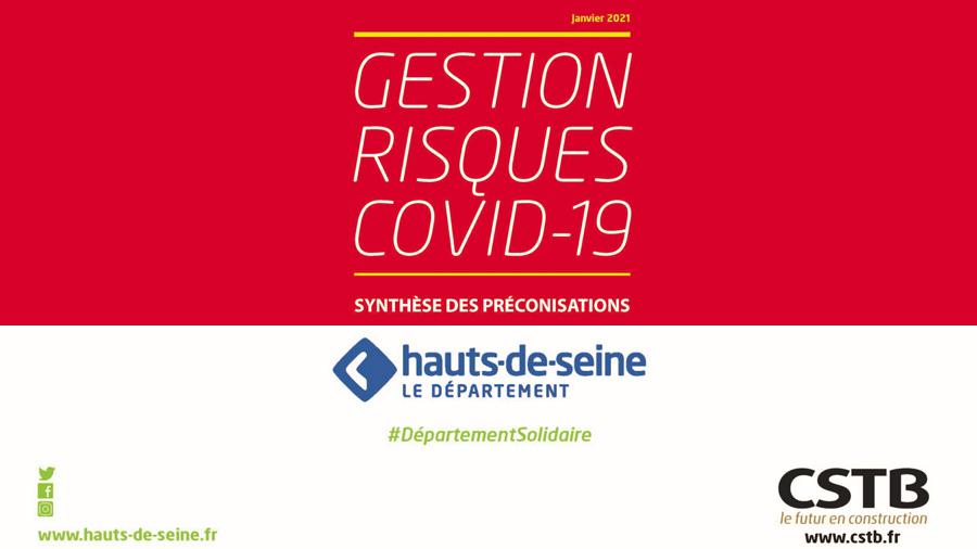Le Département des Hauts-de-Seine et le CSTB ont conçu un guide pour limiter la propagation du COVID 19 dans les collèges