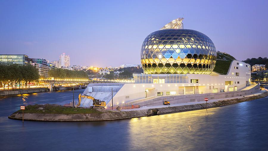 La Seine Musicale : à prouesses architecturales, solutions innovantes et collaborations expertes