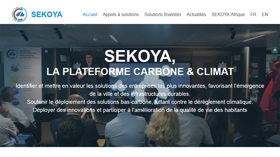 Industrial club Sekoya unveils the winners of its first call for solutions on the Sekoya carbon & climate platform