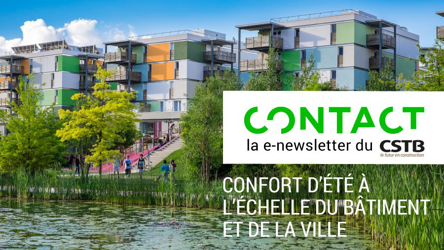 Summer comfort in buildings and cities, featured in CONTACT
