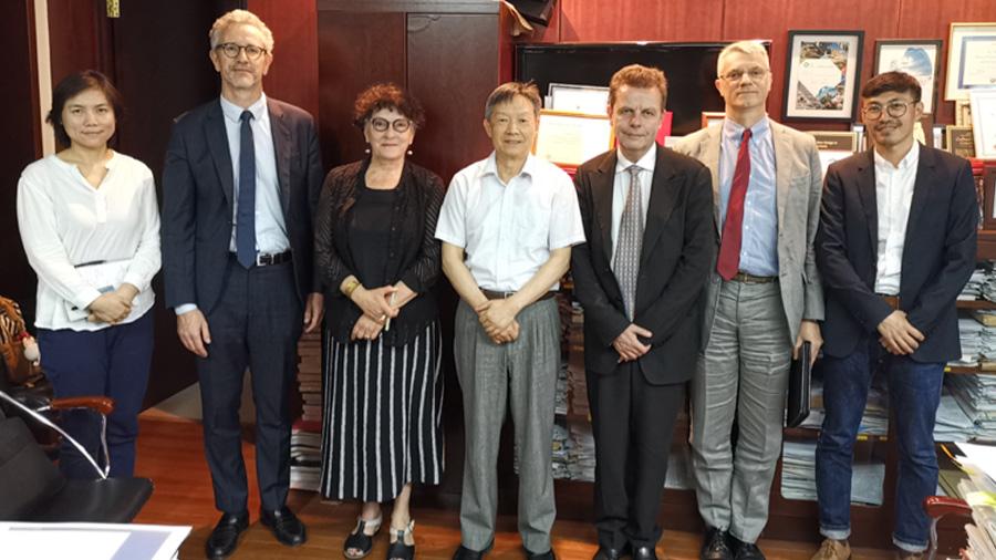Pékin, 2019 - Ministère du Logement et du Développement rural et urbain (MOHURD)