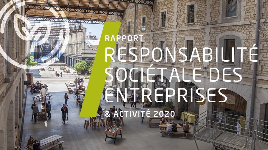Notre rapport Responsabilité Sociétale des Entreprises est en ligne