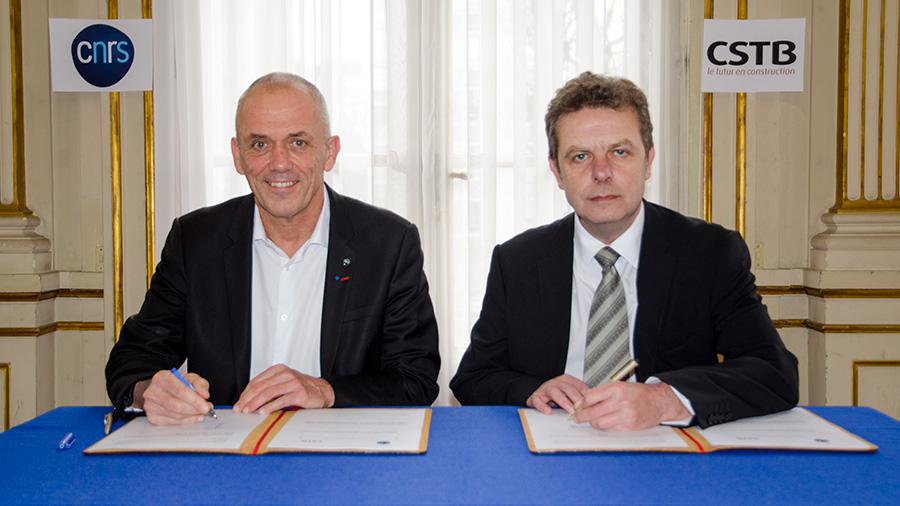 Le CNRS et le CSTB engagent un partenariat de recherche interdisciplinaire d'une durée de cinq ans