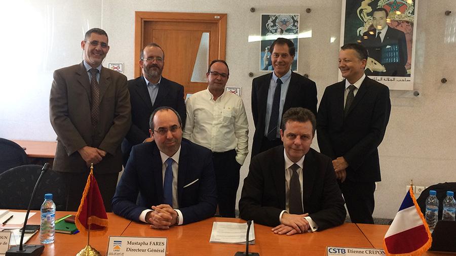 Le CSTB signe un partenariat avec le Laboratoire Public d'Essais et d'Etudes au Maroc