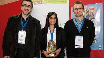 Pollutec 2014: the CSTB receives the Innovative Environmental Techniques Award