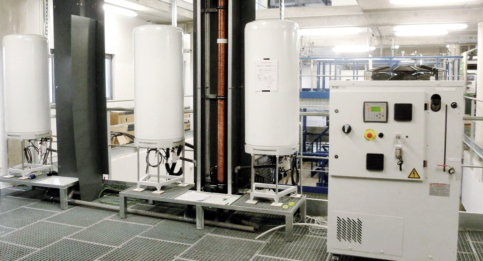 Measuring the performance of a water heat recovery system