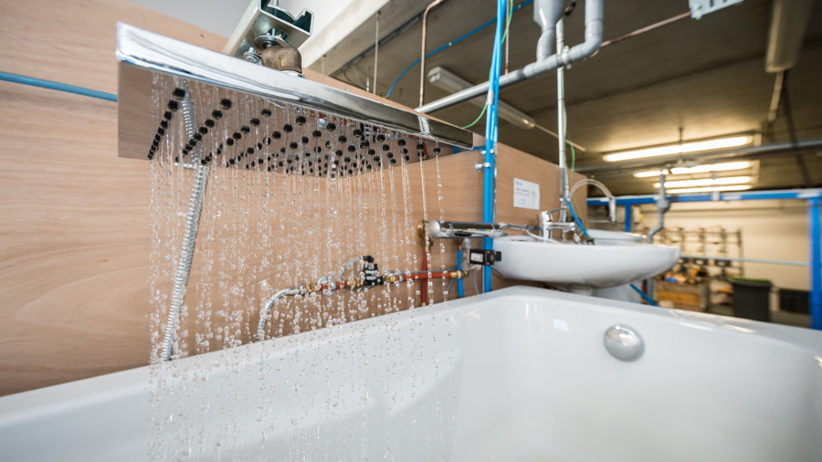 Heat recovery from greywater tested under real conditions