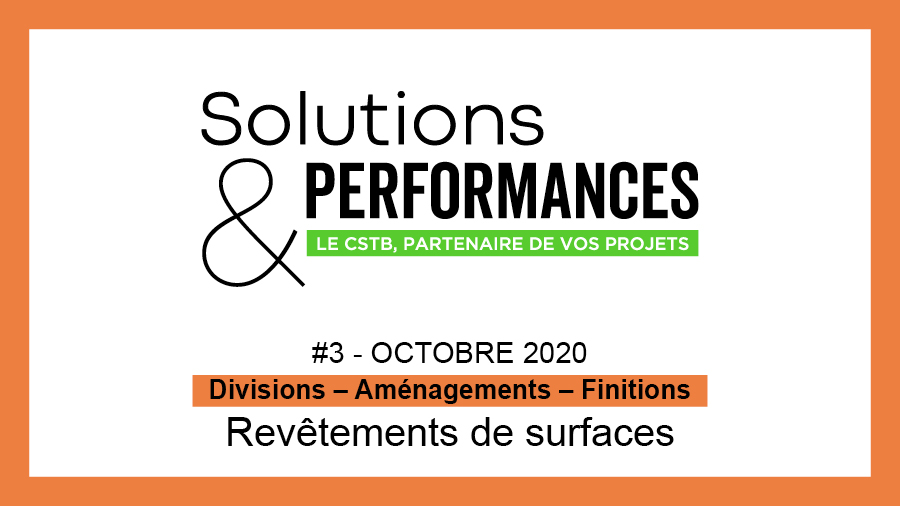 Les Revêtements de surfaces à la Une de Solutions & Performances n°3