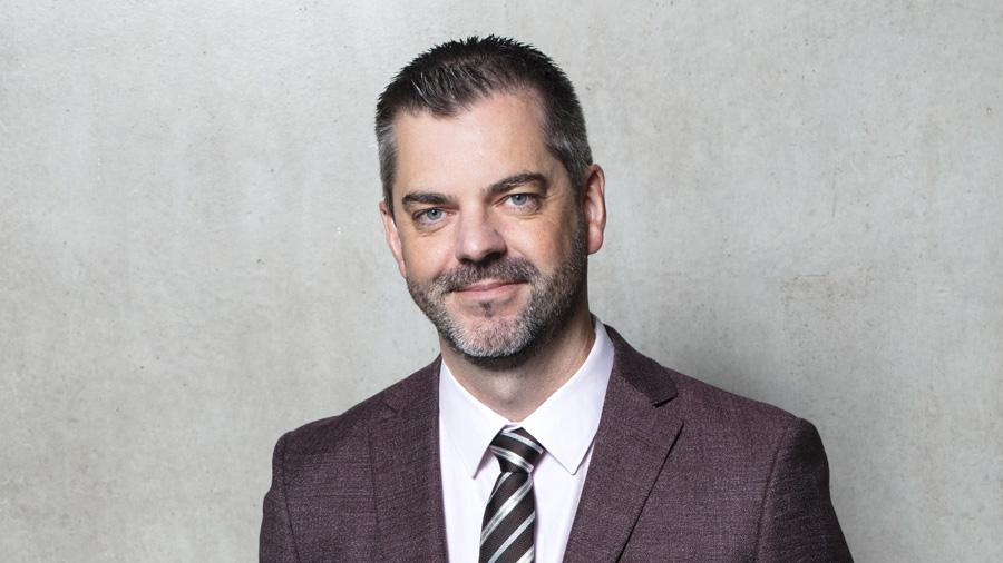 Stéphane Hameury, directeur opérationnel de la nouvelle direction « Enveloppe du bâtiment »