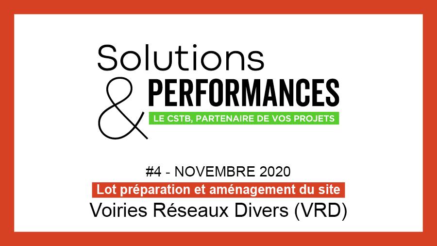 Voirie Réseaux Divers (VRD) au sommaire de Solutions & Performances n°4