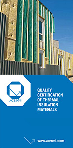Quality Certification of Thermal Insulation Materials