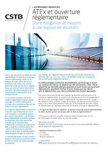 ATEx et ouverture réglementaire