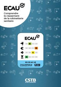 ECAU, Comprendre le classement de la robinetterie sanitaire