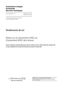 Notice sur le classement UPEC des locaux
