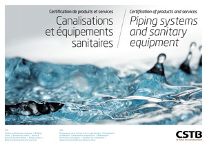 Piping systems and sanitary equipmentCanalisations et équipements sanitaires