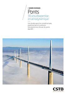 Ponts. 30 ans d'expertise en aérodynamique