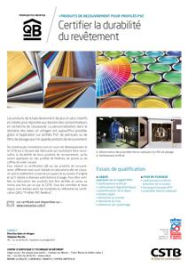 Produits de recouvrement pour profilés PVC
