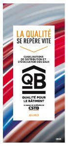 QB 08 - Canalisations de distribution et d'évacuation des eaux