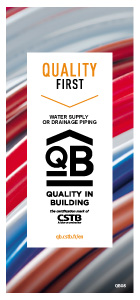 QB 08 - Water supply or drainage piping