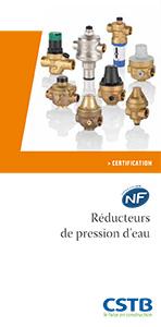 Réducteurs de pression d'eau