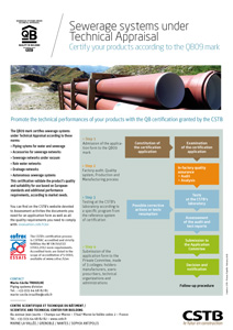 Sewerage systems under Technical Appraisal