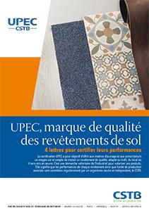 UPEC, marque de qualité des revêtements de sol